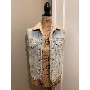 Denim & Supply Ralph Lauren Distressed Vest